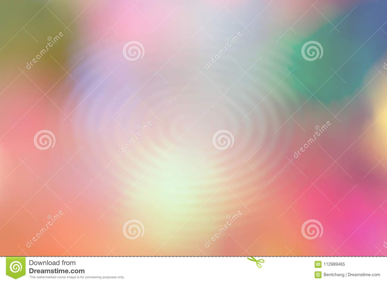Abstract motion illustrations background. Blur, bubble, orange, dream & close-up.
