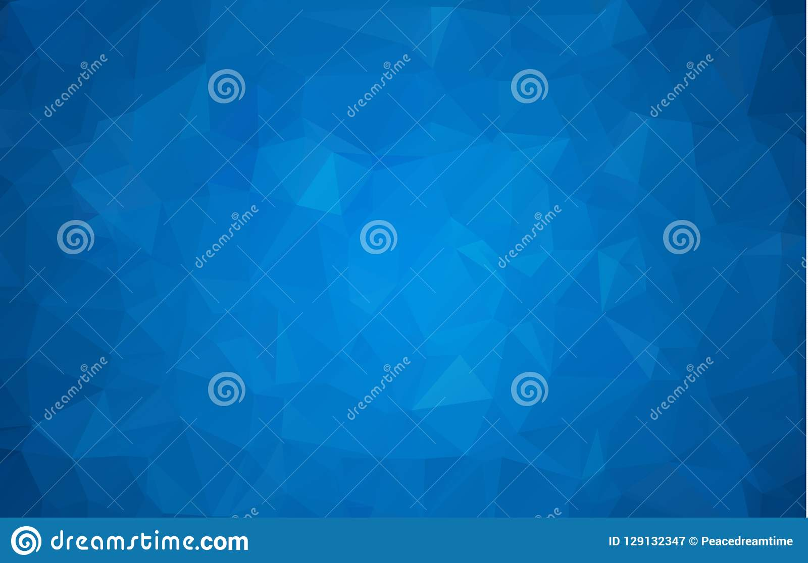Abstract multicolor dark blue geometric rumpled triangular low poly style gradient illustration graphic background. Vector polygon