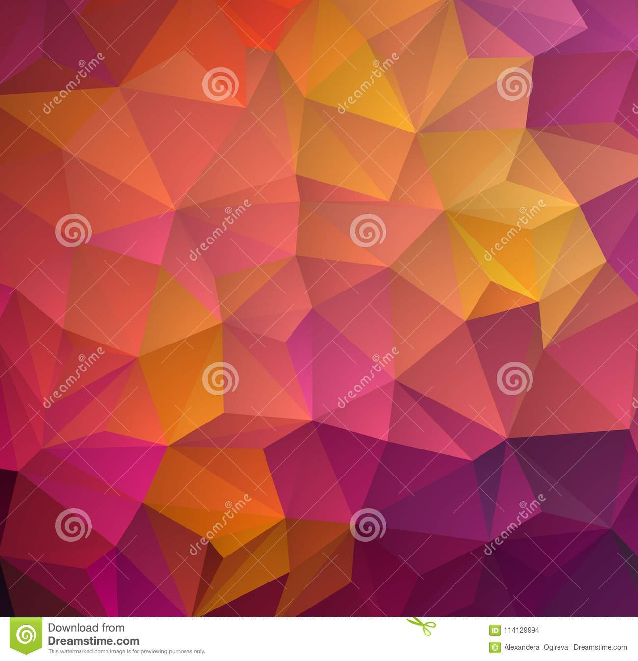 abstract multicolored polygon low polygon background transfusion