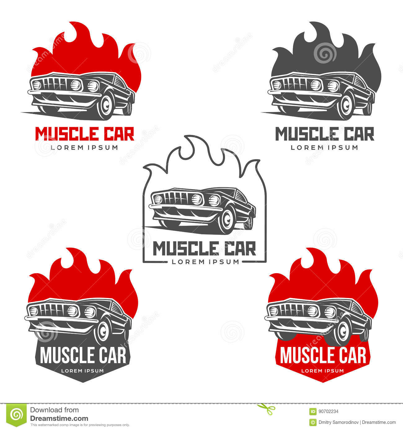Abstract muscle car label stock illustration illustration of download abstract muscle car label stock illustration illustration of classic 90702234 reheart Image collections