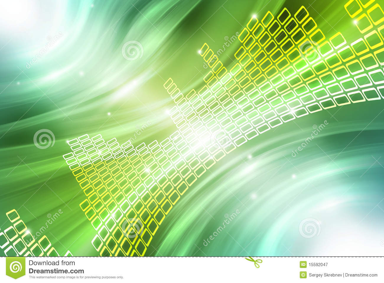 Abstract Music Background Stock Illustration Image Of