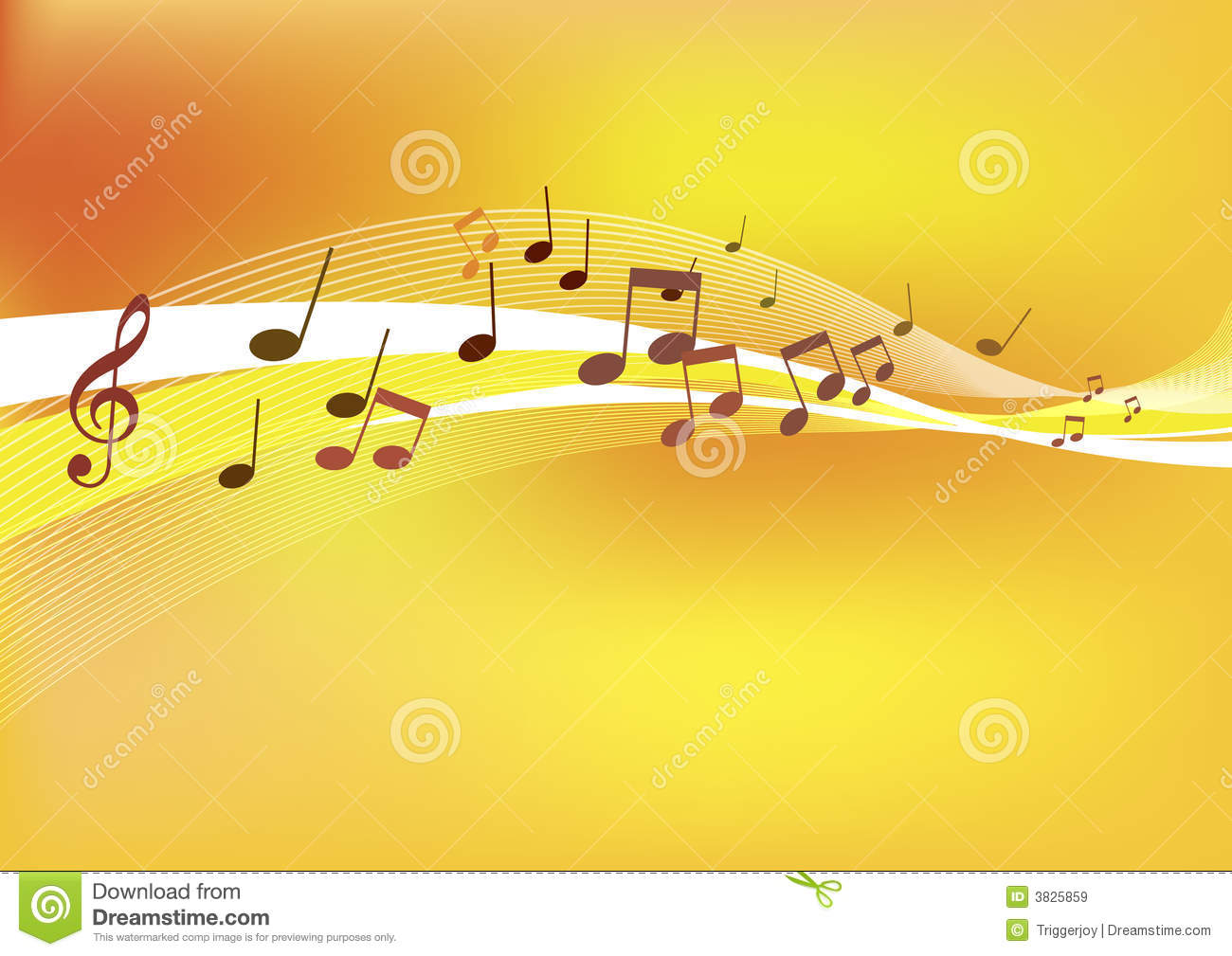 Abstract Music Background stock illustration Image of pattern