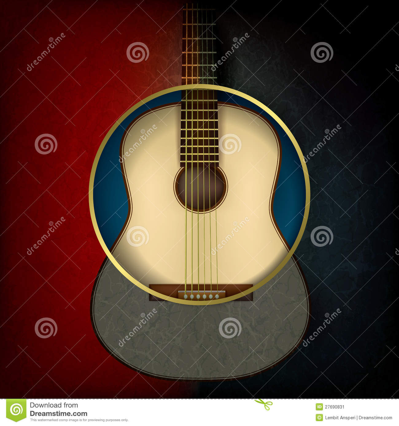 music time guitar abstract - photo #12