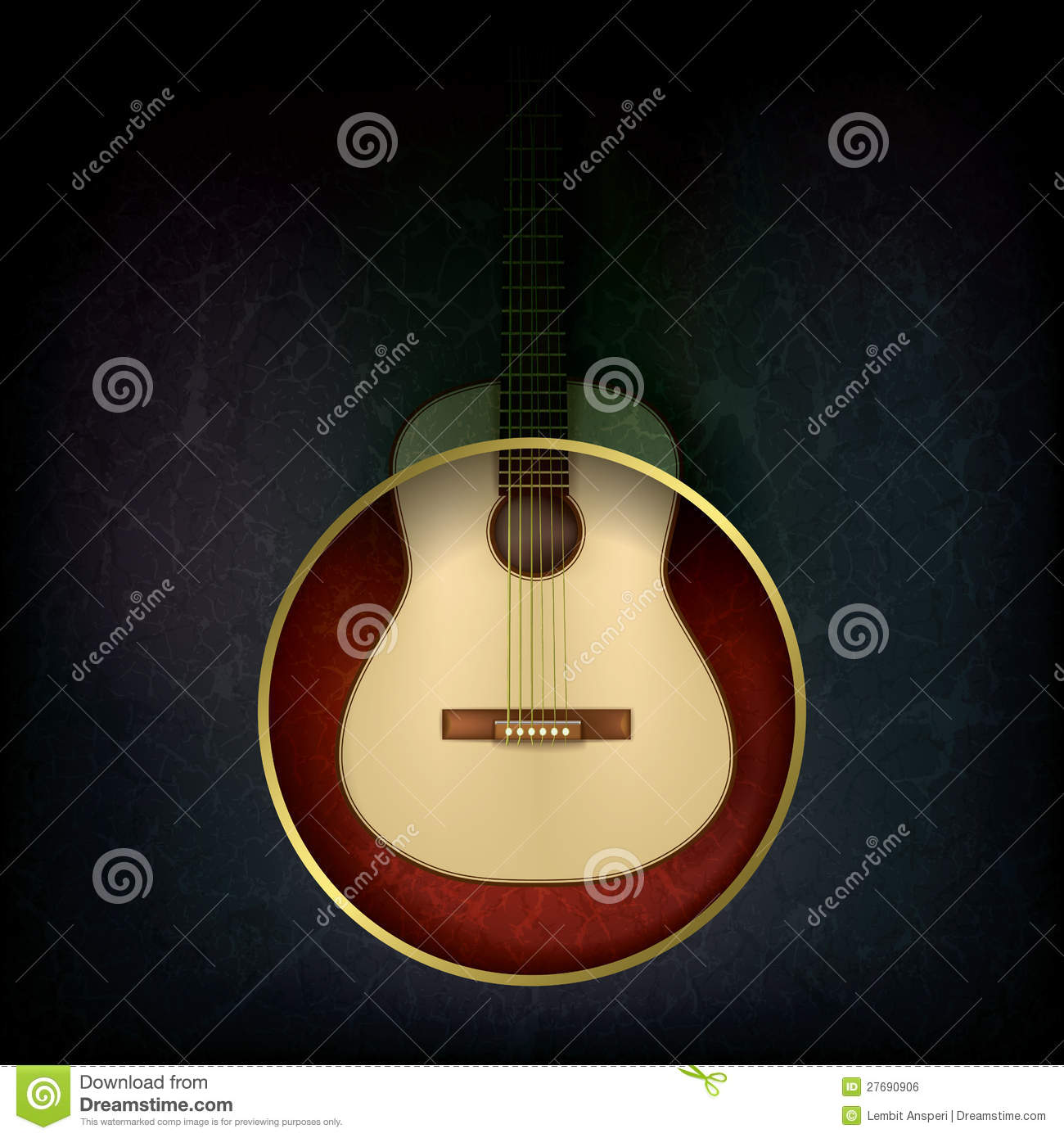 music time guitar abstract - photo #27