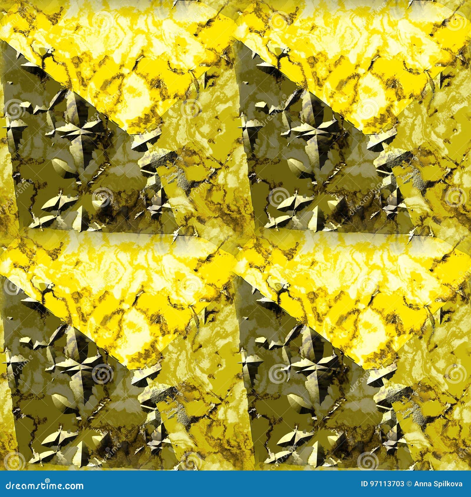 Abstract naadloos grunge marmeren patroon met barsten en aders