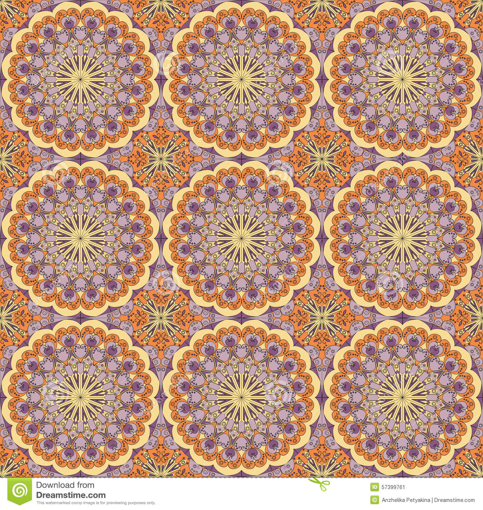 Abstract naadloos patroon
