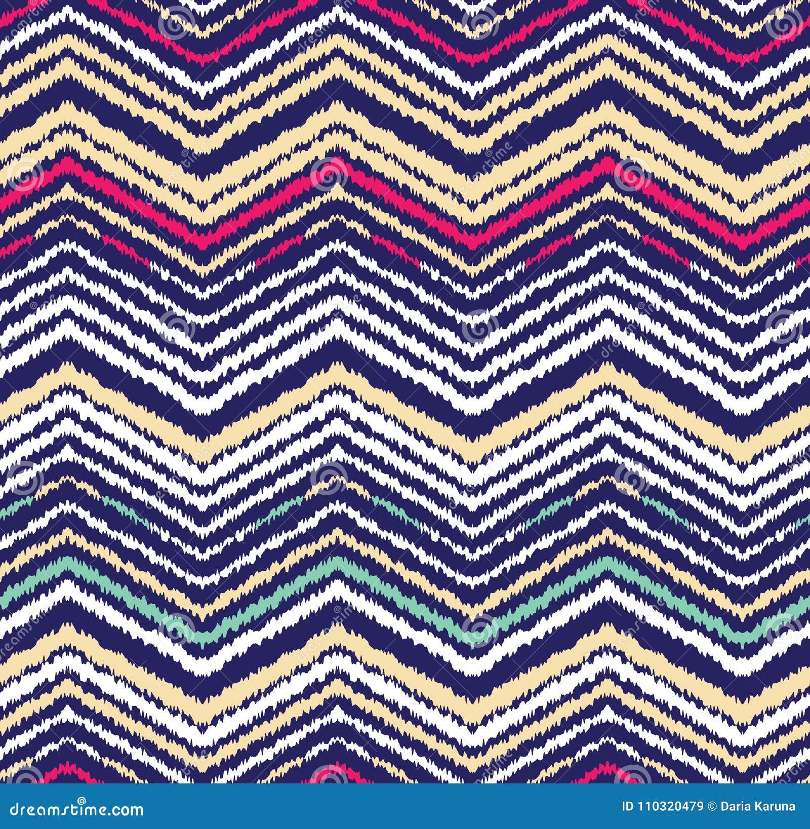 Abstract naadloos patroon in etnische stijl Warme stof