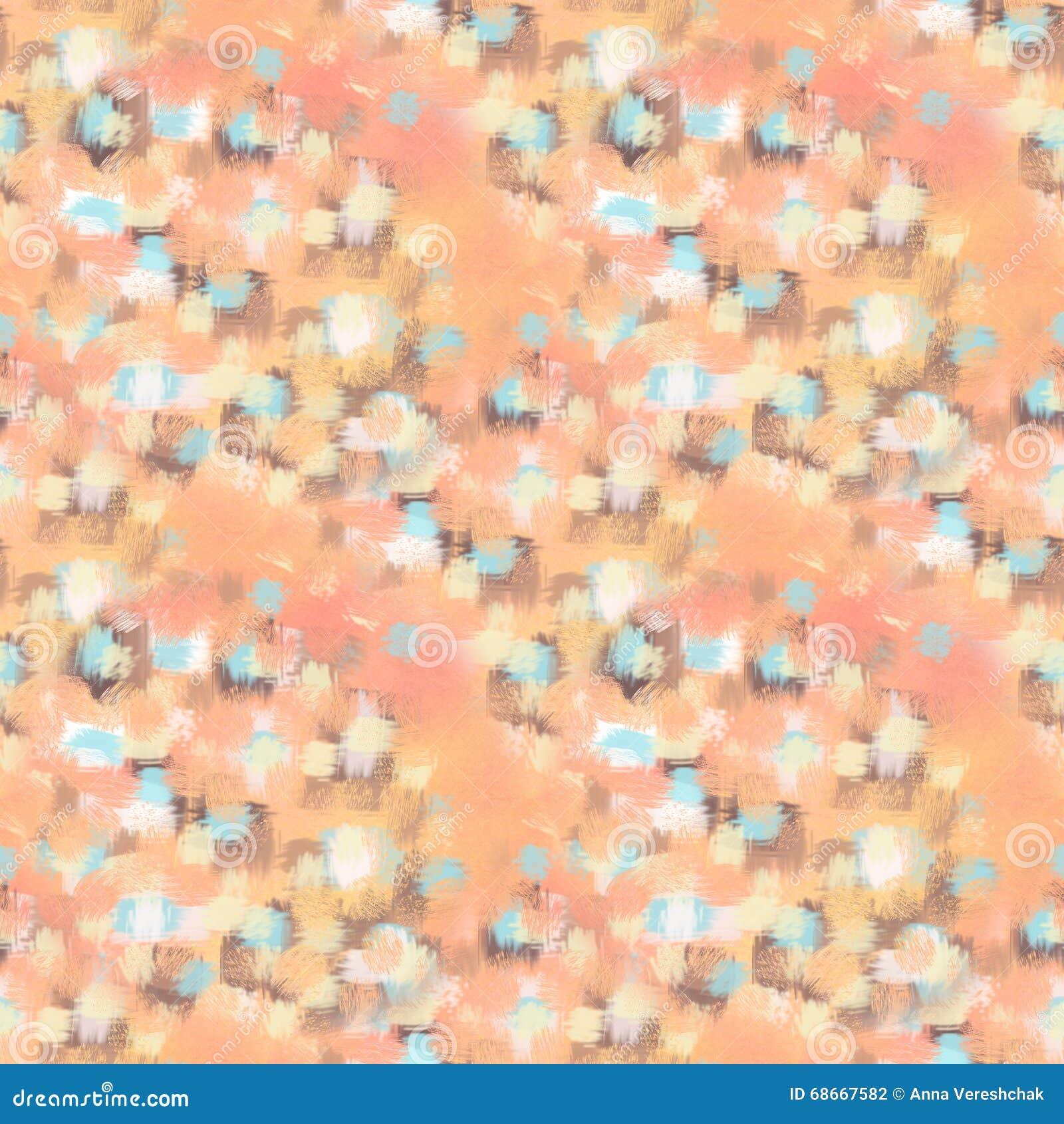 Abstract Naadloos Patroon Textuur, achtergrond en kleurrijk grungebeeld De abstracte Slagen van de Borstel