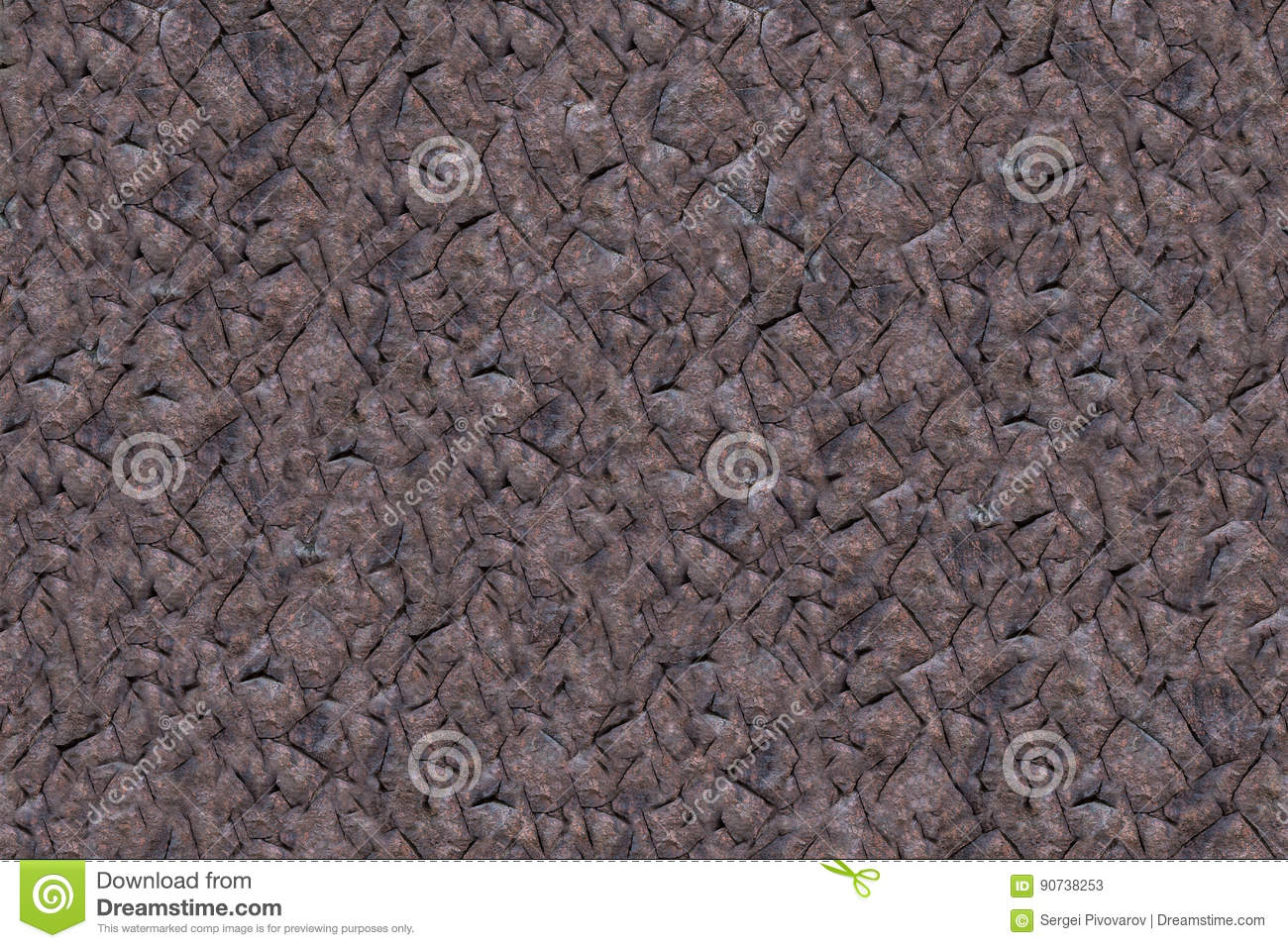 Abstract natural background geometric pattern lines made of dark stones