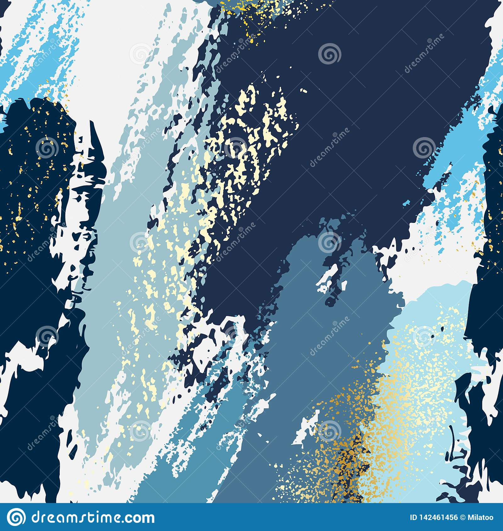 Abstract Navy Blue Texutre Pattern. Girty Grunge Paint