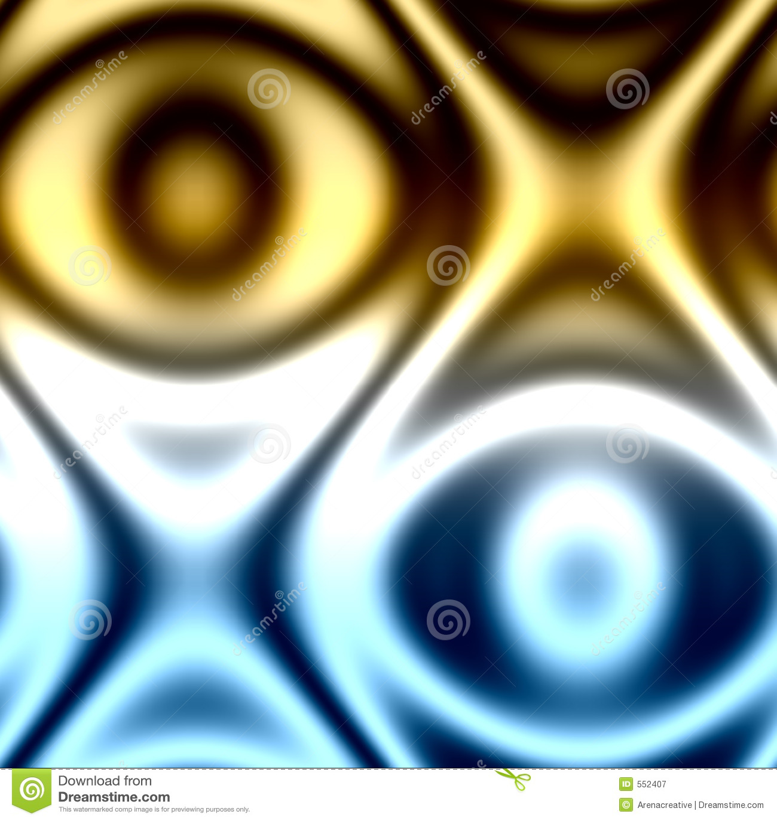 Abstract Opposite Eyes Stock Illustration. Illustration Of