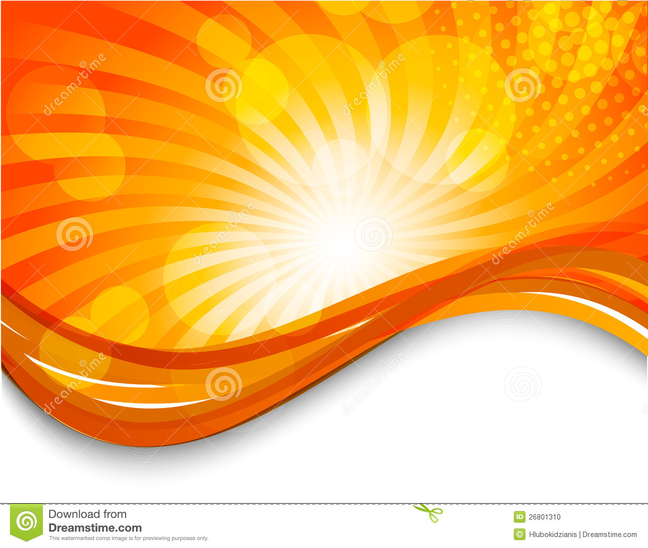 Abstract orange background stock vector Image of graphic 26801310