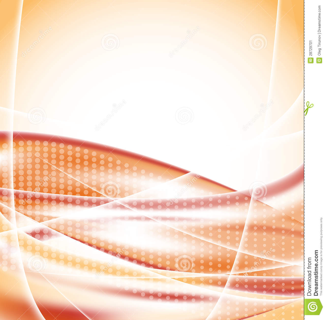 Abstract Orange Background, Design Template Stock Image - Image ...