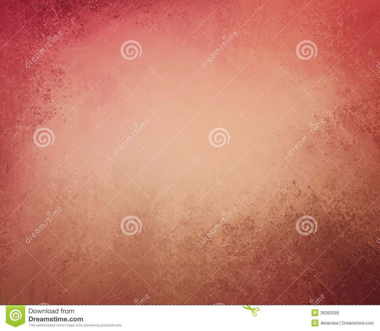 Abstract orange background gold tone center and dark orange border warm colors