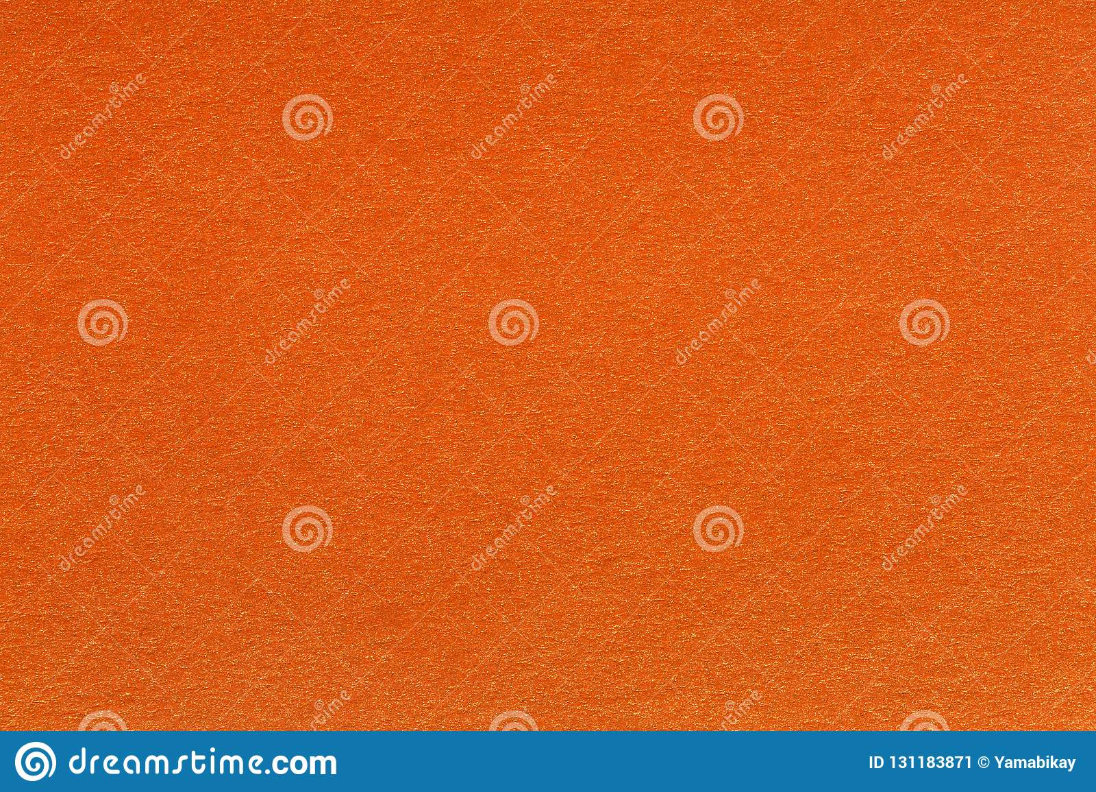 Abstract Orange Background Light Yellow Corner Spotlight