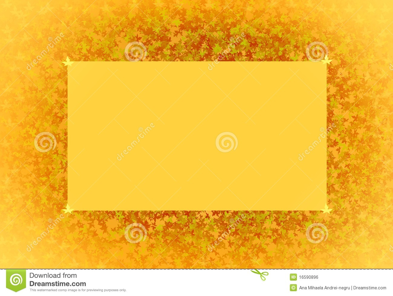 Abstract Orange Background For Writing Royalty Free Stock