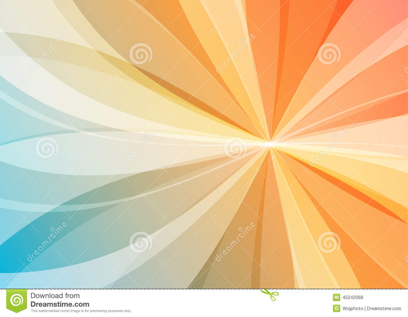 Abstract orange and blue background stock illustration abstract orange and blue background altavistaventures Images
