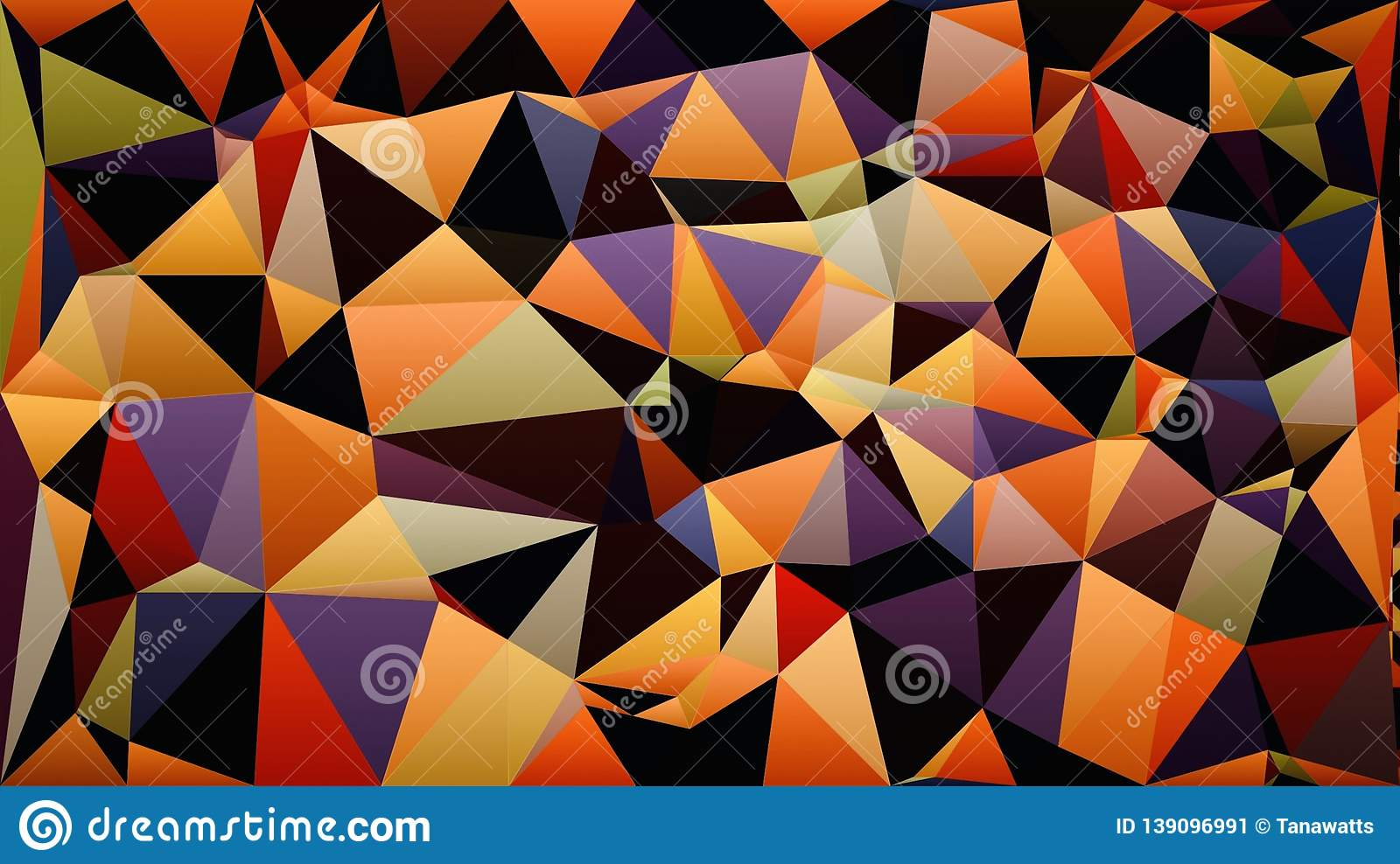 Abstract Orange Red Pink Purple Green Blue White Black Color