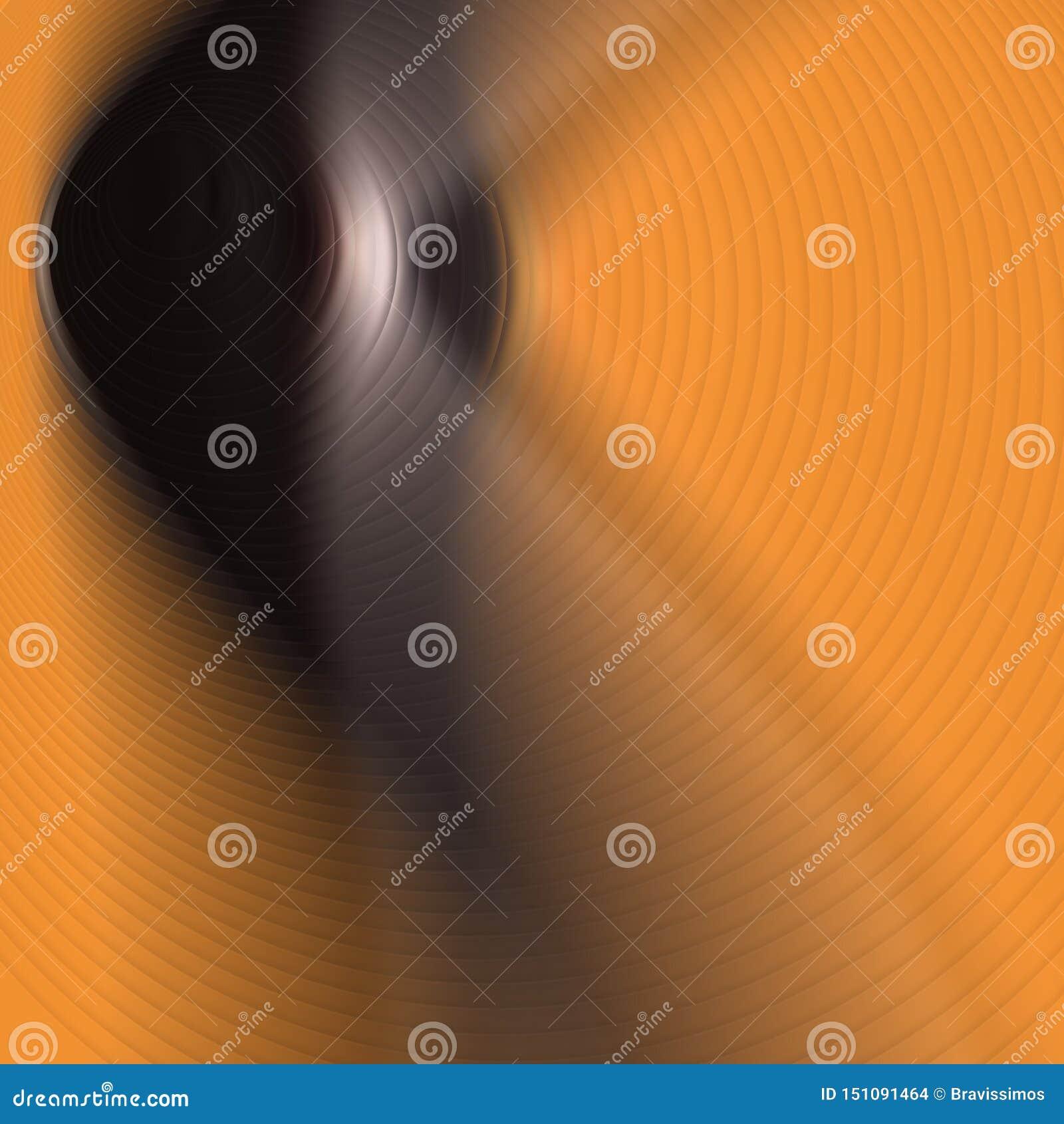 Abstract Orange Yellow Gradient Background. Wallpaper