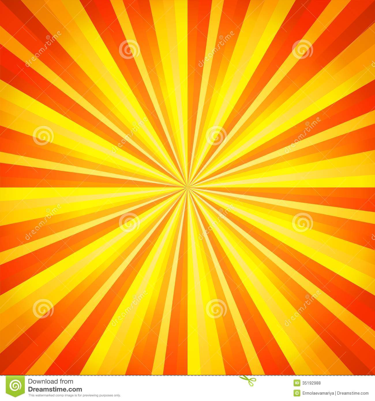 Abstract Orange And Yellow Line Background Vector Stock