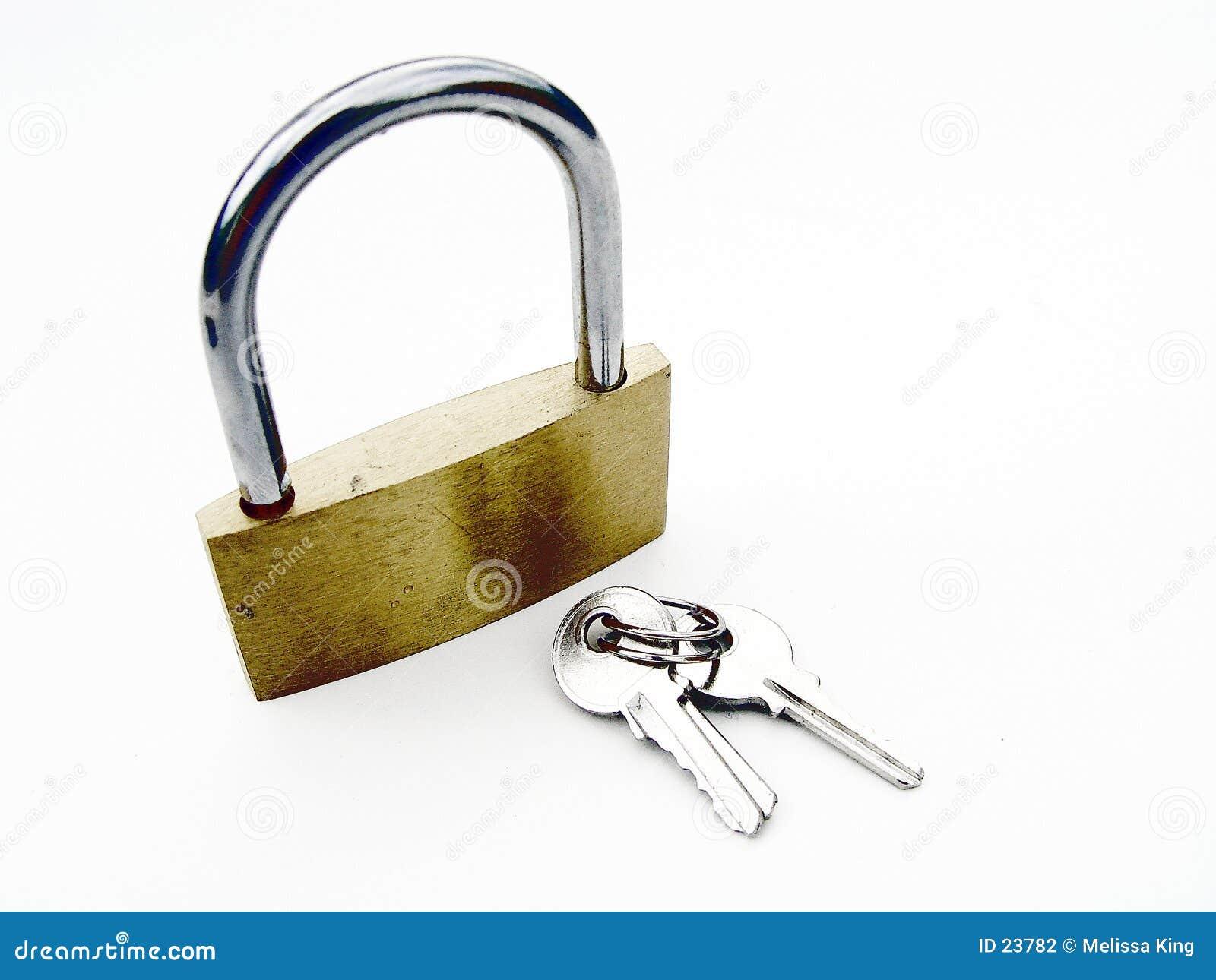 Abstract Pad Lock