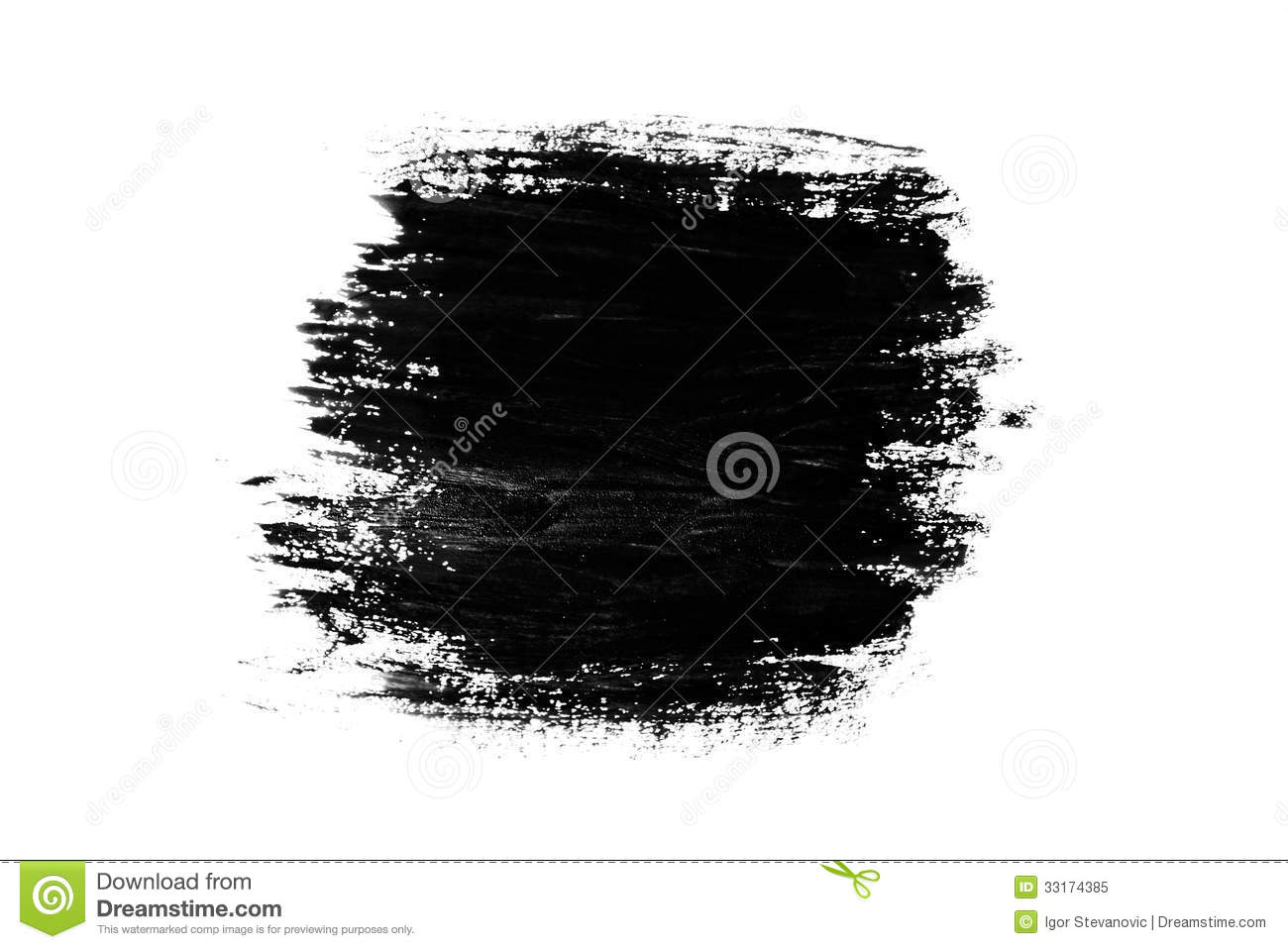 Abstract Paint Brush Stroke Stock Image Image Of