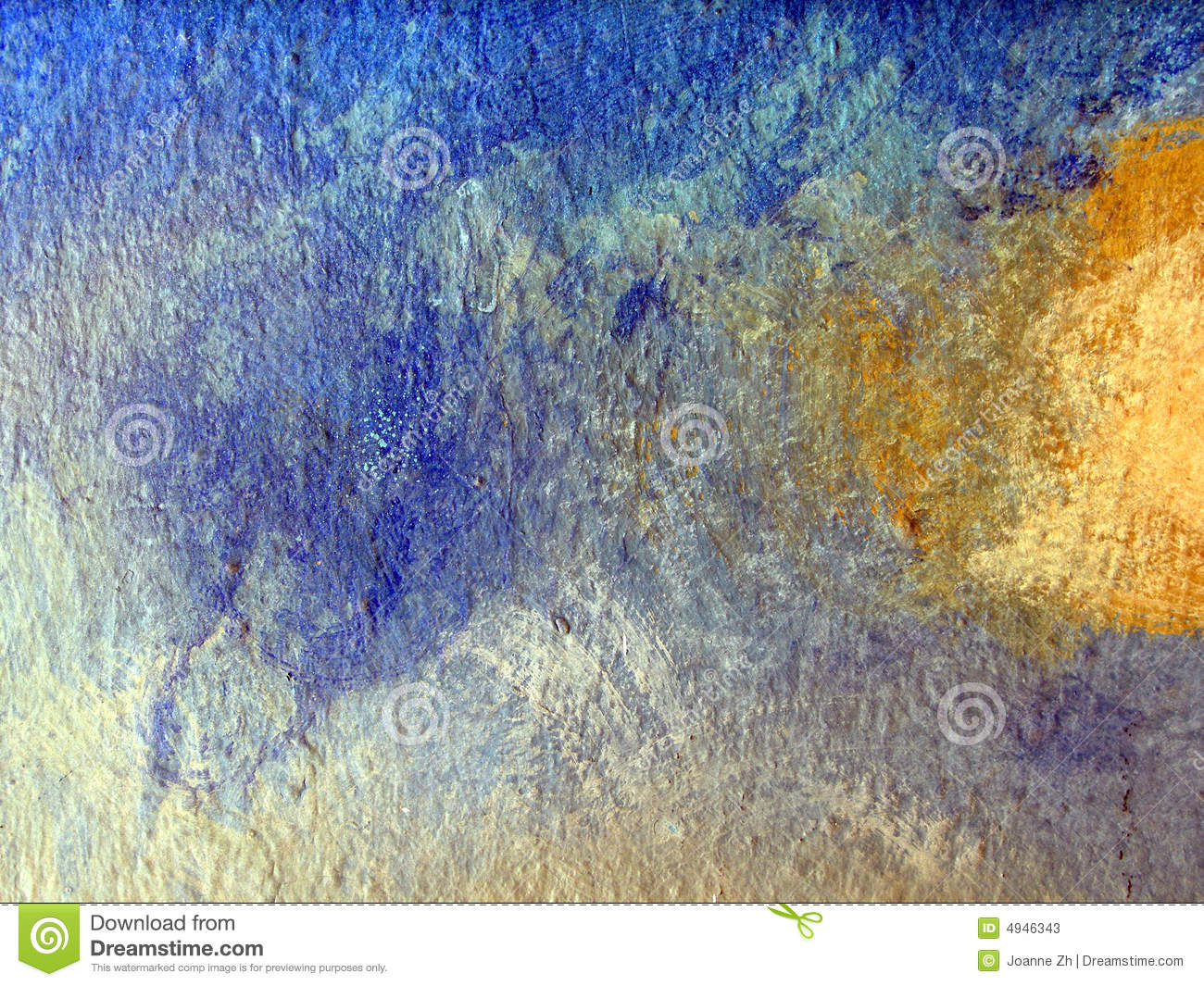 Abstract of painted wall surface