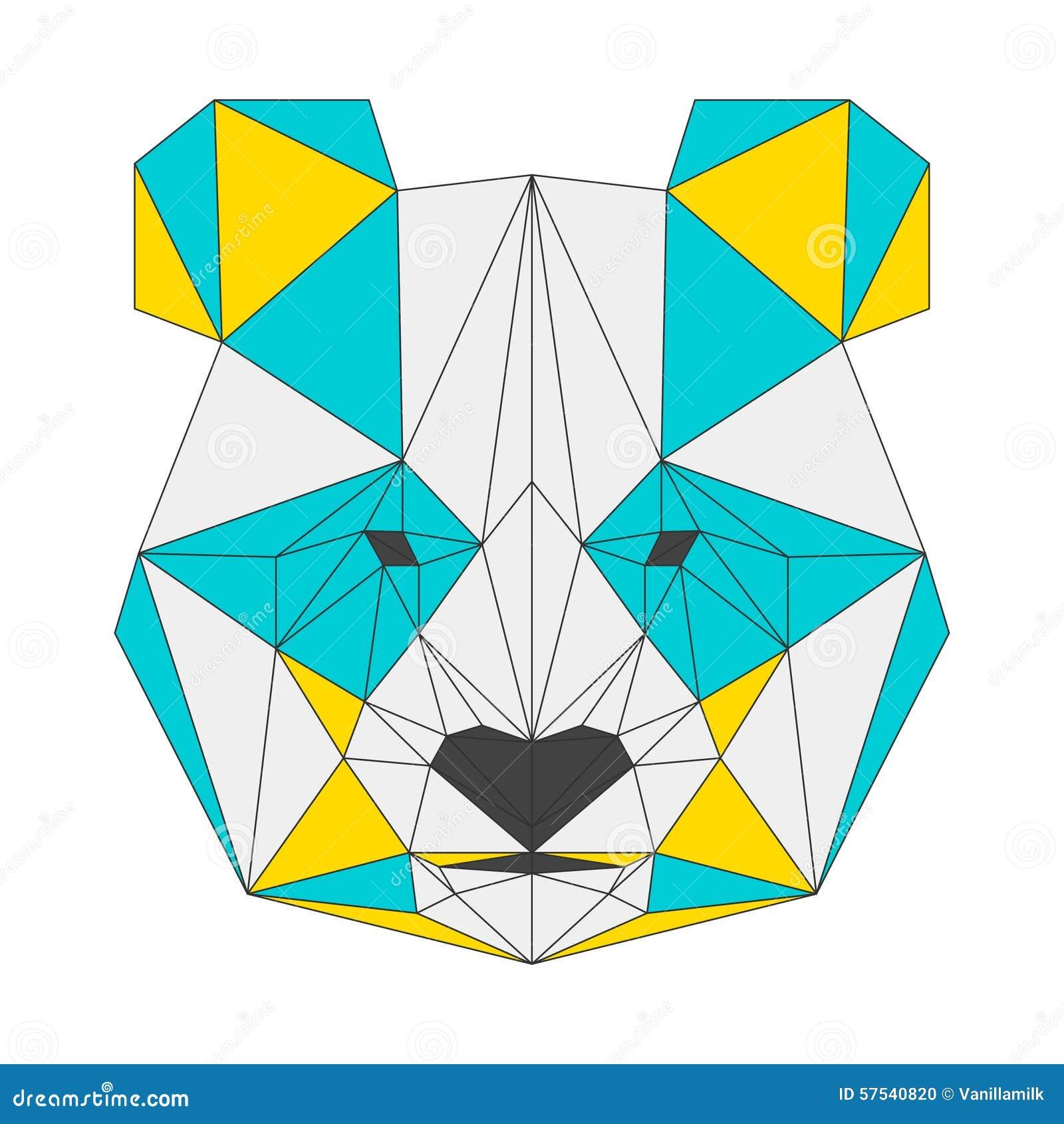 geometric yellow background illustration - photo #15