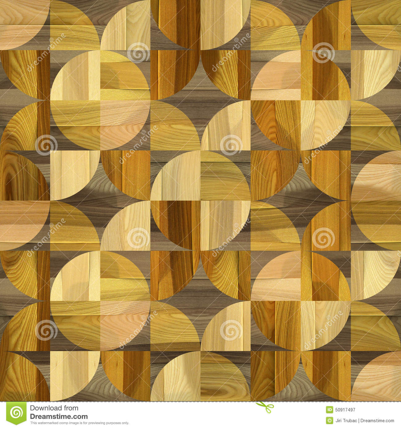 Abstract Paneling Pattern - Seamless Background - Laminate Floor ...
