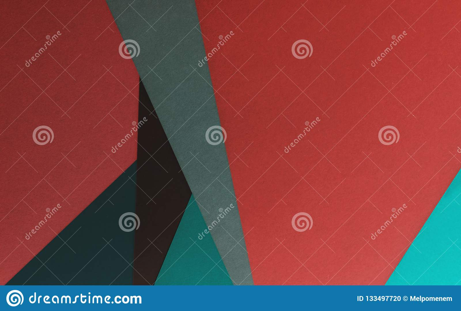Abstract paper art craft background