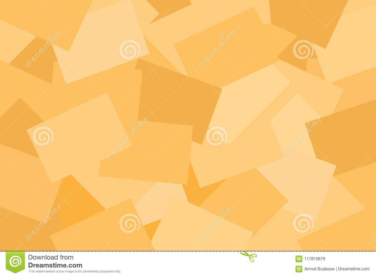 Abstract Paper Brown Pastel Colorful Geometric Flat Lay