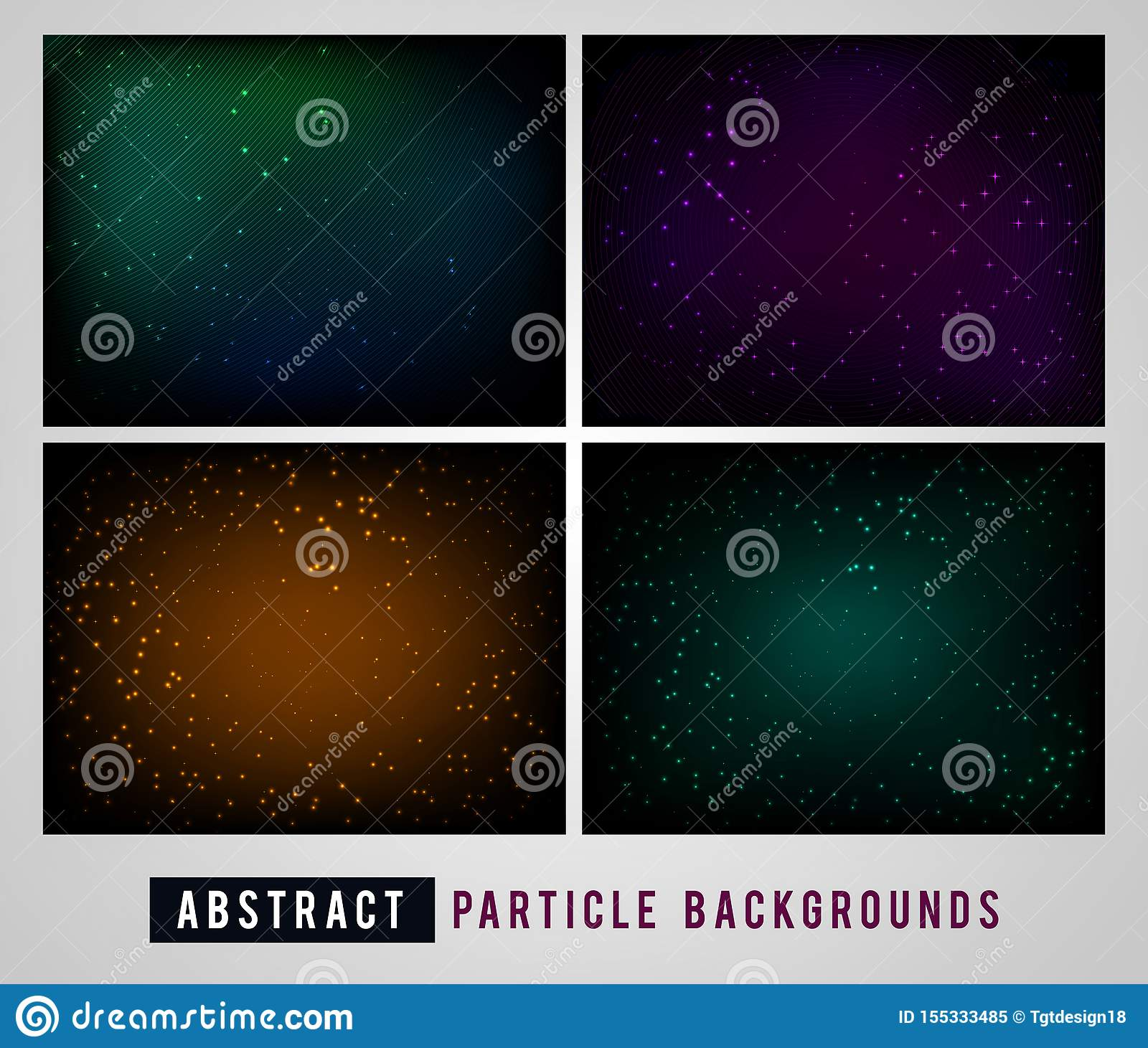 Abstract Particle Backgrounds Pack With Soft Gradient