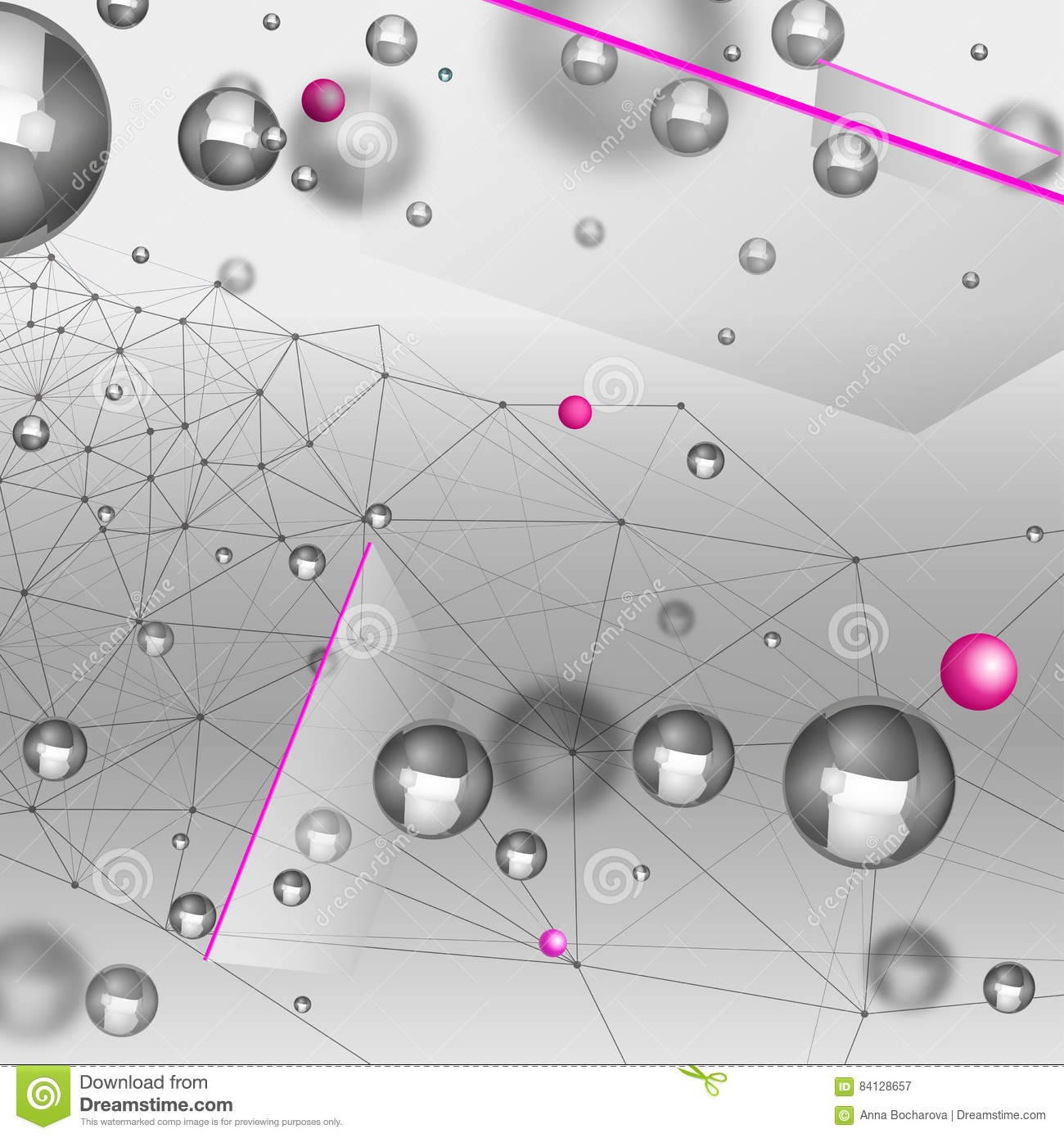 Abstract Particles Background Stock Vector - Illustration ...