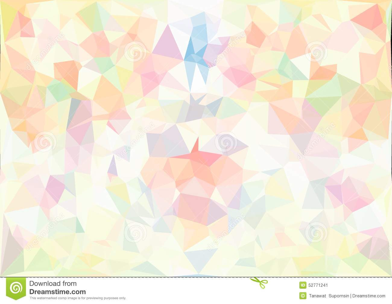 Shades Or Purple Abstract Pastel Color Low Poly Bokeh Wallpaper Stock Image