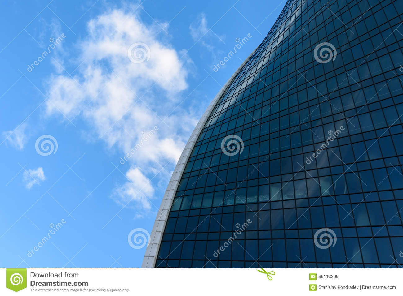 f8b348691cd Abstract Photo Of A Modern Glass Building Stock Photo - Image of ...