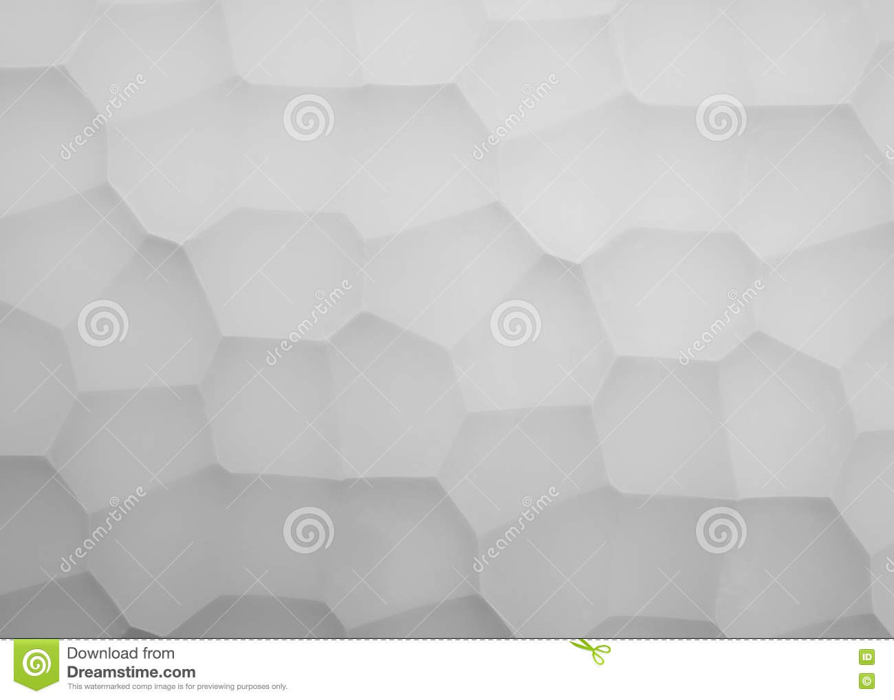 Abstract picture panels made of gypsum with geometry pattern