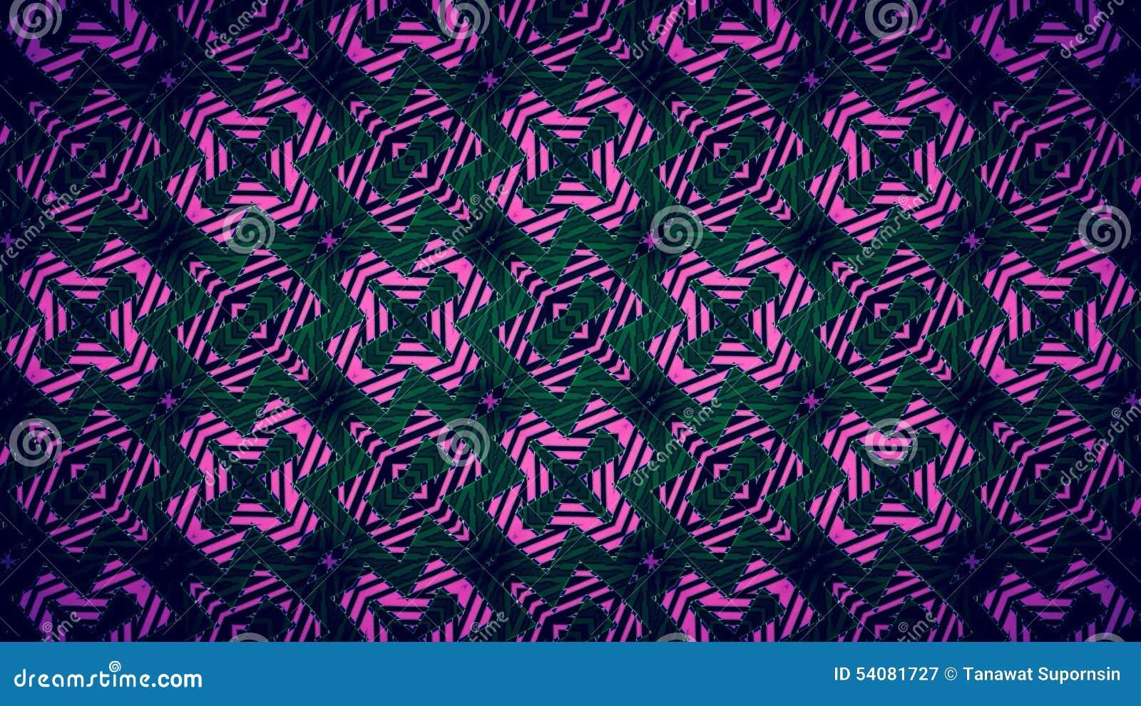 Abstract Pijlen zwart en rood patroon