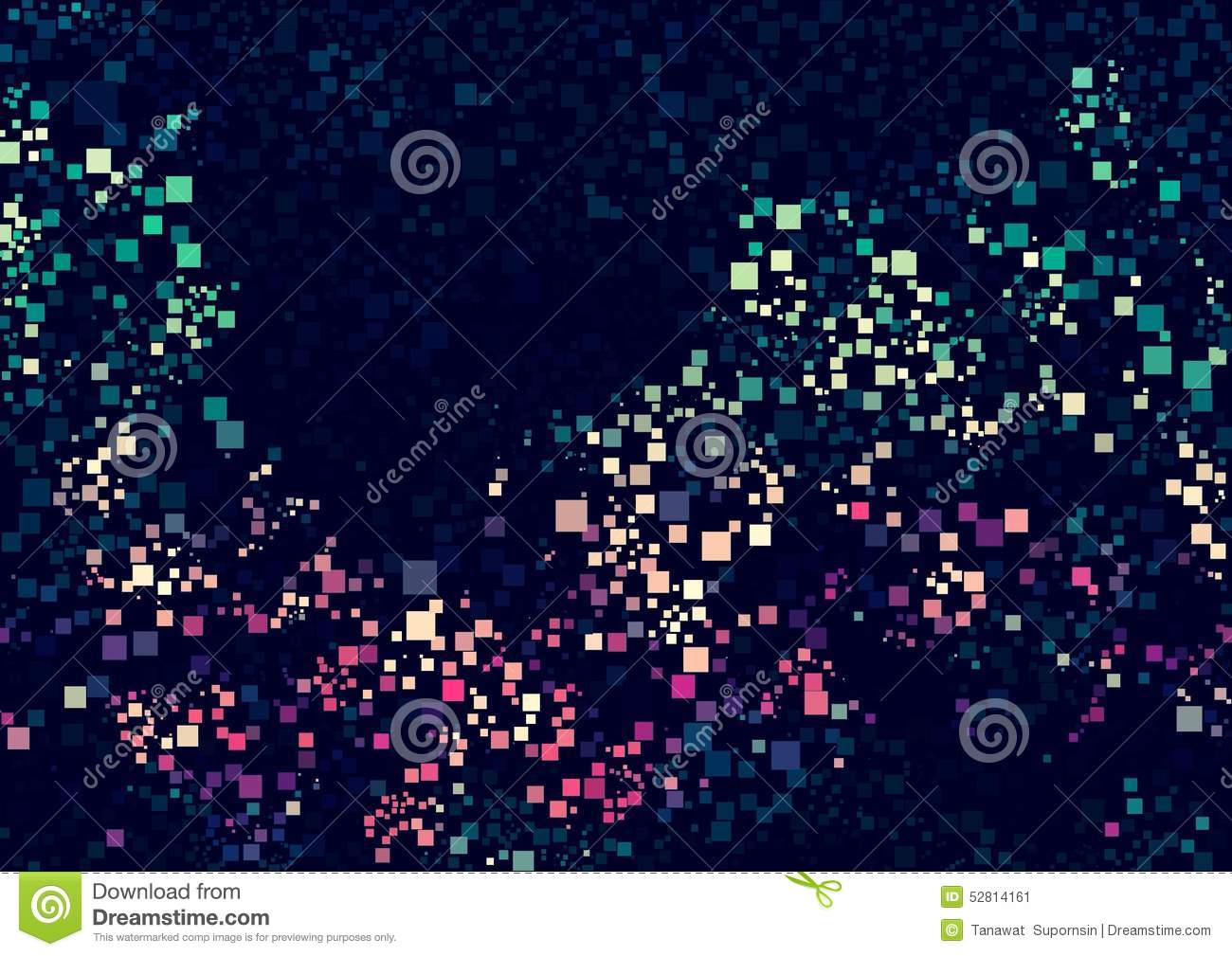 abstract pink green cream blue color bokeh wallpaper stock image