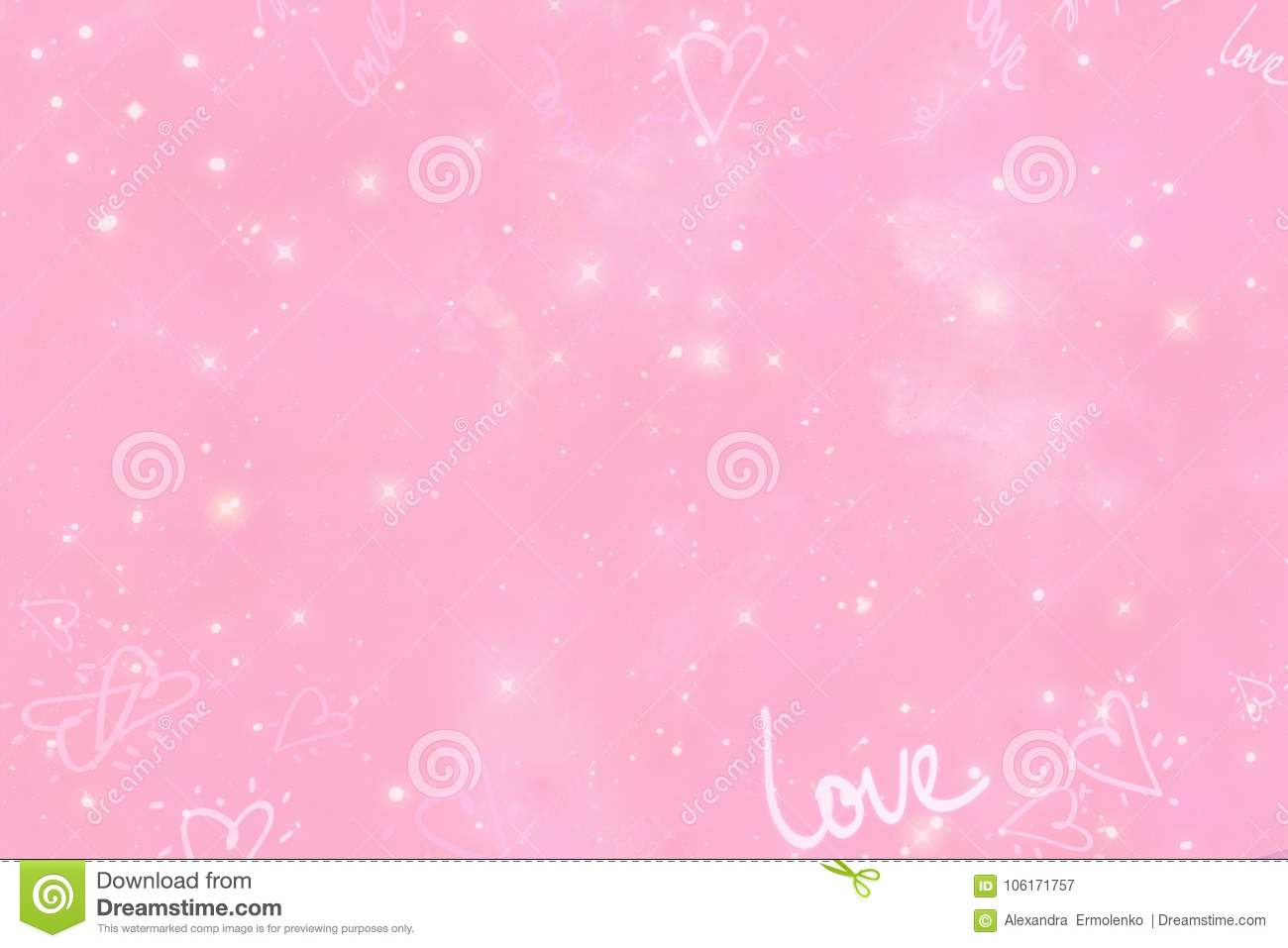 Abstract pink shimmering background
