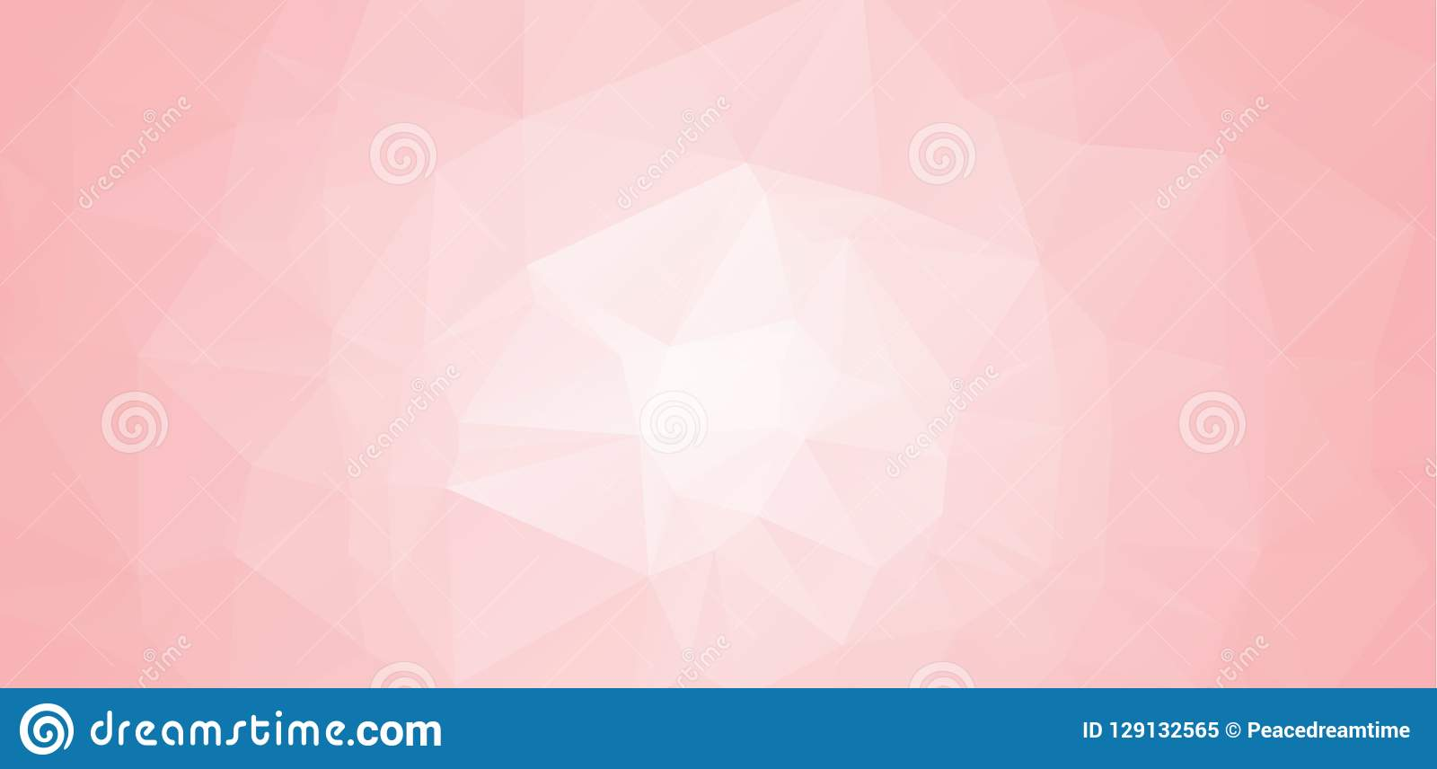 Abstract Pink and white abstract geometric backgrounds. Polygonal vector. Abstract polygonal illustration, which consist of triang