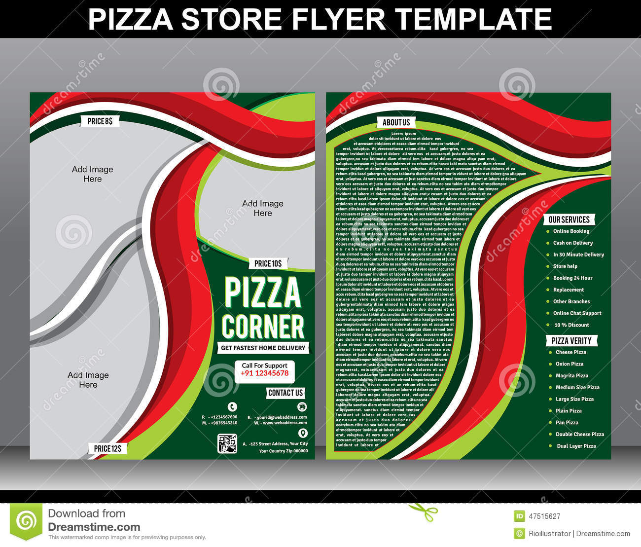 store flyer template