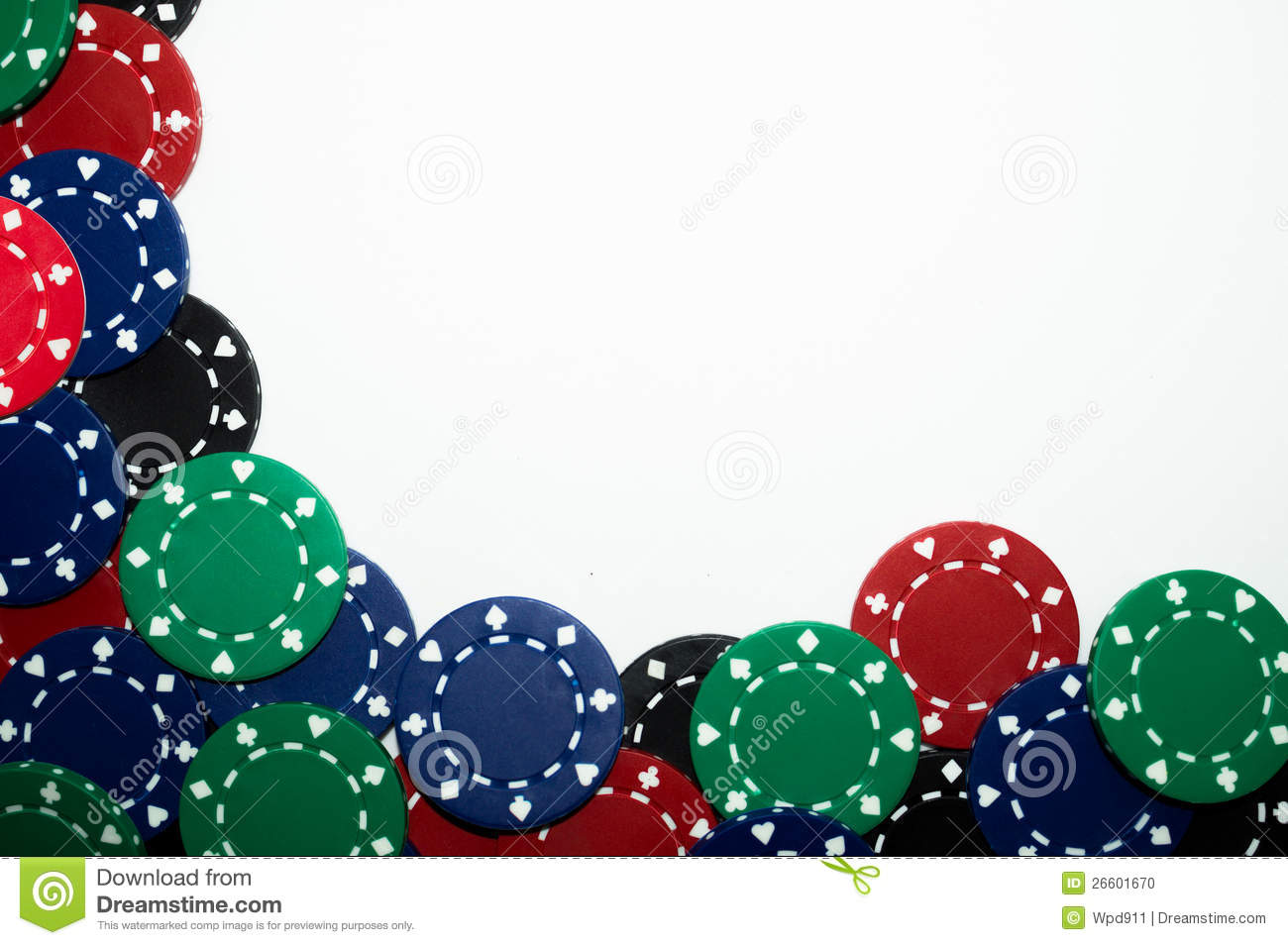 Abstract Poker Chip Background Stock Photo - Image: 26601670