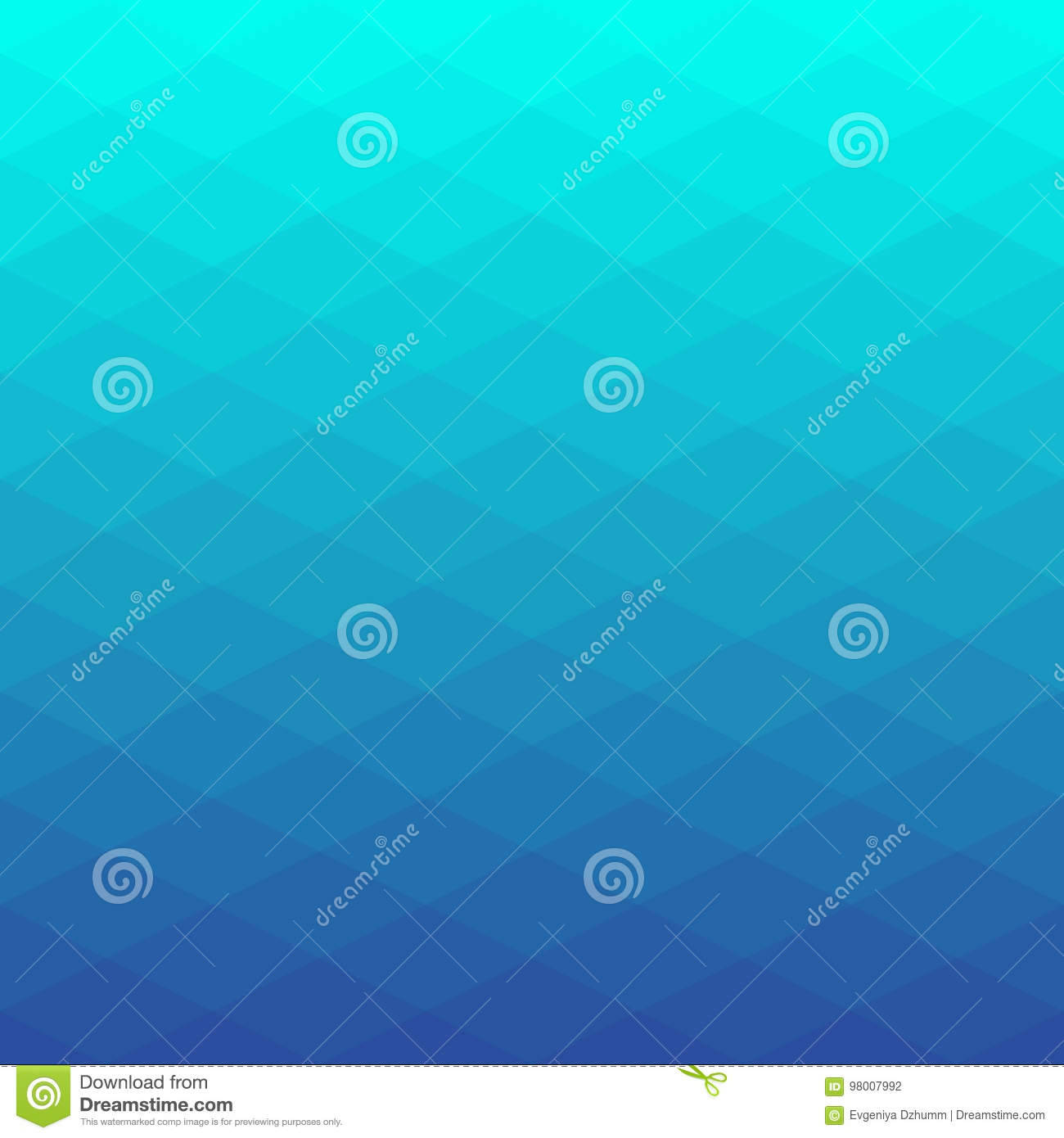 Abstract poligonal background of rhombus. Geometry triangle background with gradient colors.