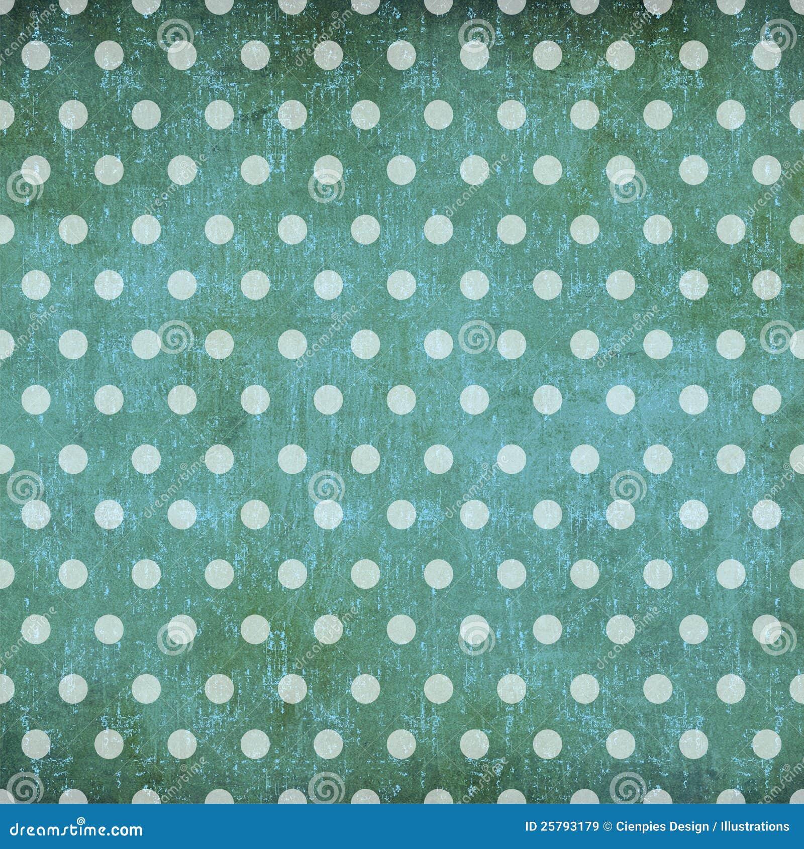 abstract polka dot vintage background stock illustration