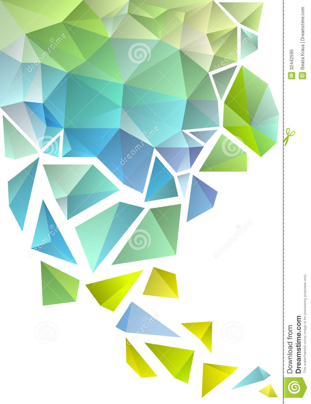Triangle Objects Clipart