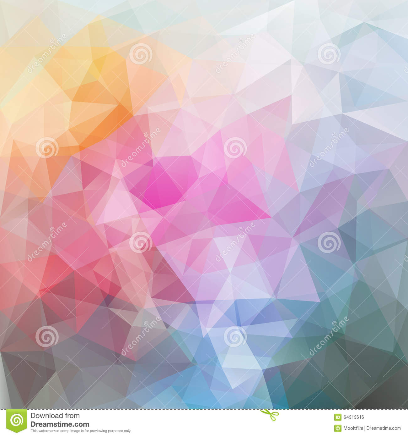 abstract polygonal colorful background - photo #13