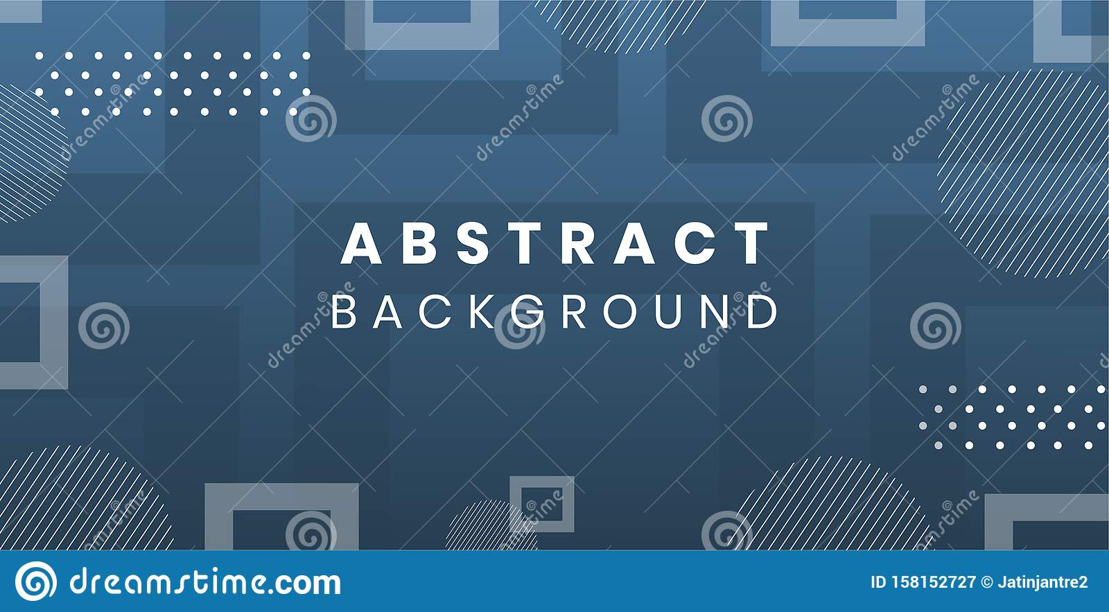 Abstract polygonal creative background