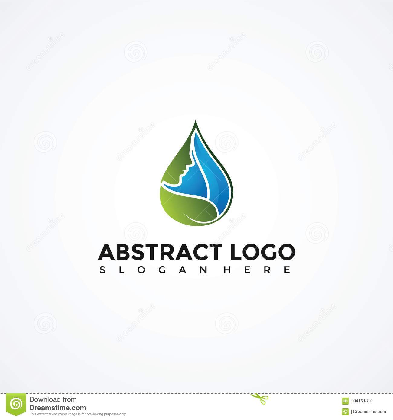 Abstract Purity Logo Template. Vector Illustrator Eps. 10 Stock ...