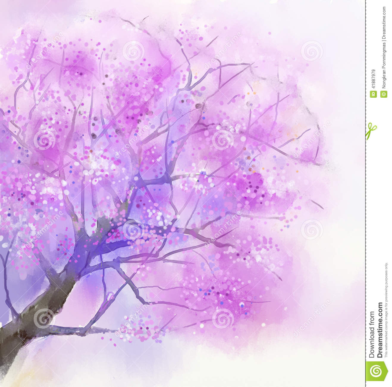 cherry blossom tree wallpaper mural