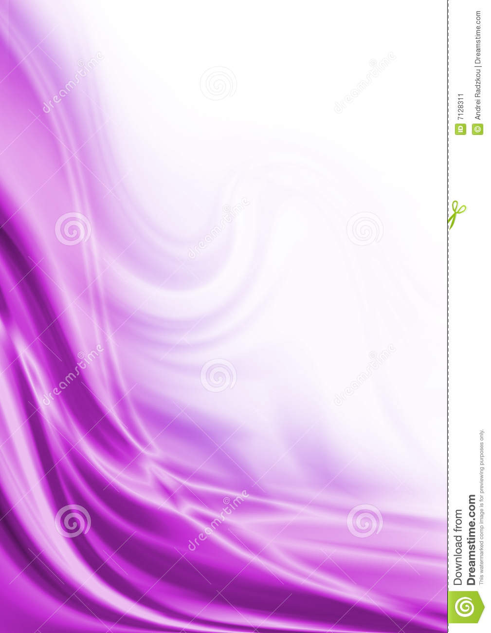 Abstract Purple Wave S...
